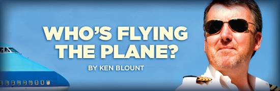 Who's Flying The Plane?
