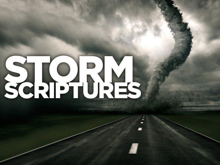 Storm Scriptures