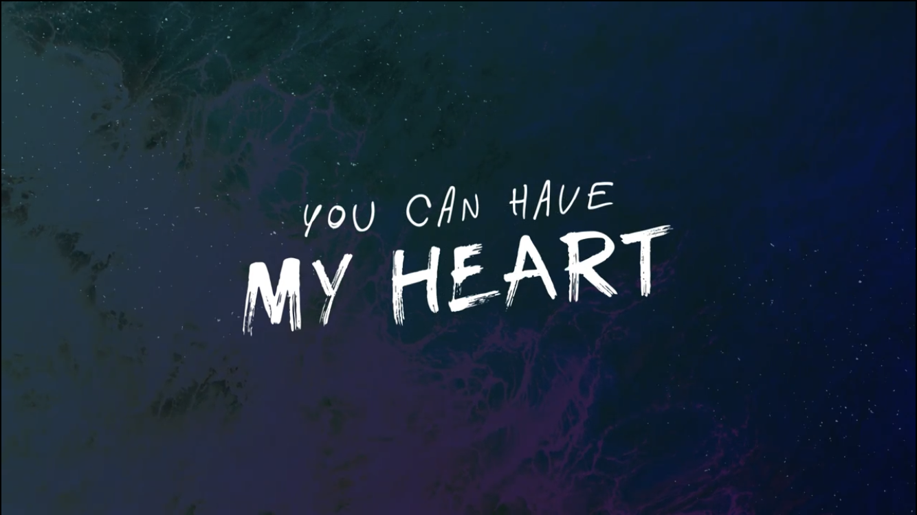 You Can Have My Heart VIDEO DOWNLOAD